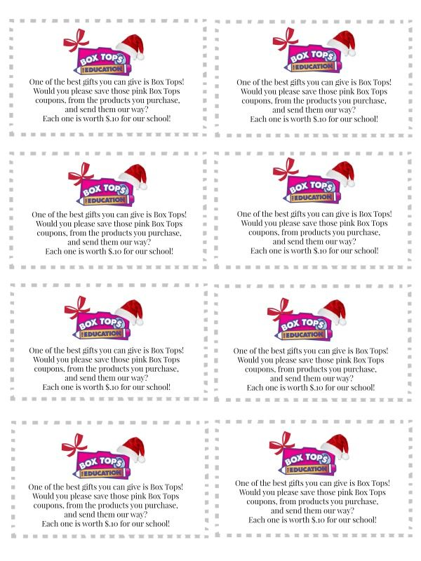 Box tops business christmas cards box tops 4 education pinterest box tops business christmas cards reheart Images