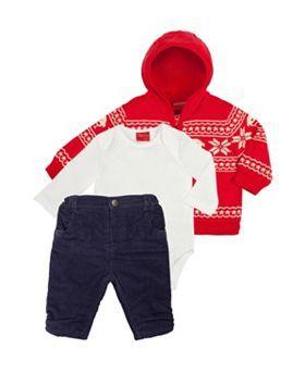 46a9db59730d Mini Club Baby Boys Christmas 3 Piece Set - Boots