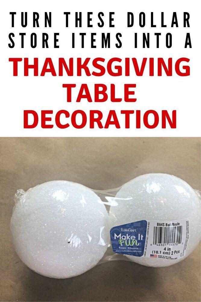 13 DIY Fall Thanksgiving Table Decorations #thanksgivingtablesettingideas