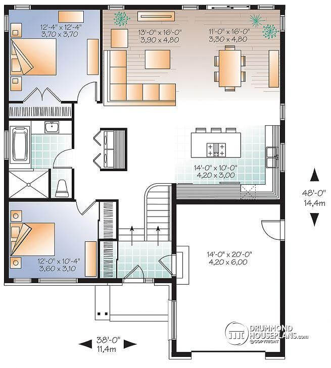 1st Level Modern Split Level Home With Open Floor Plan 2