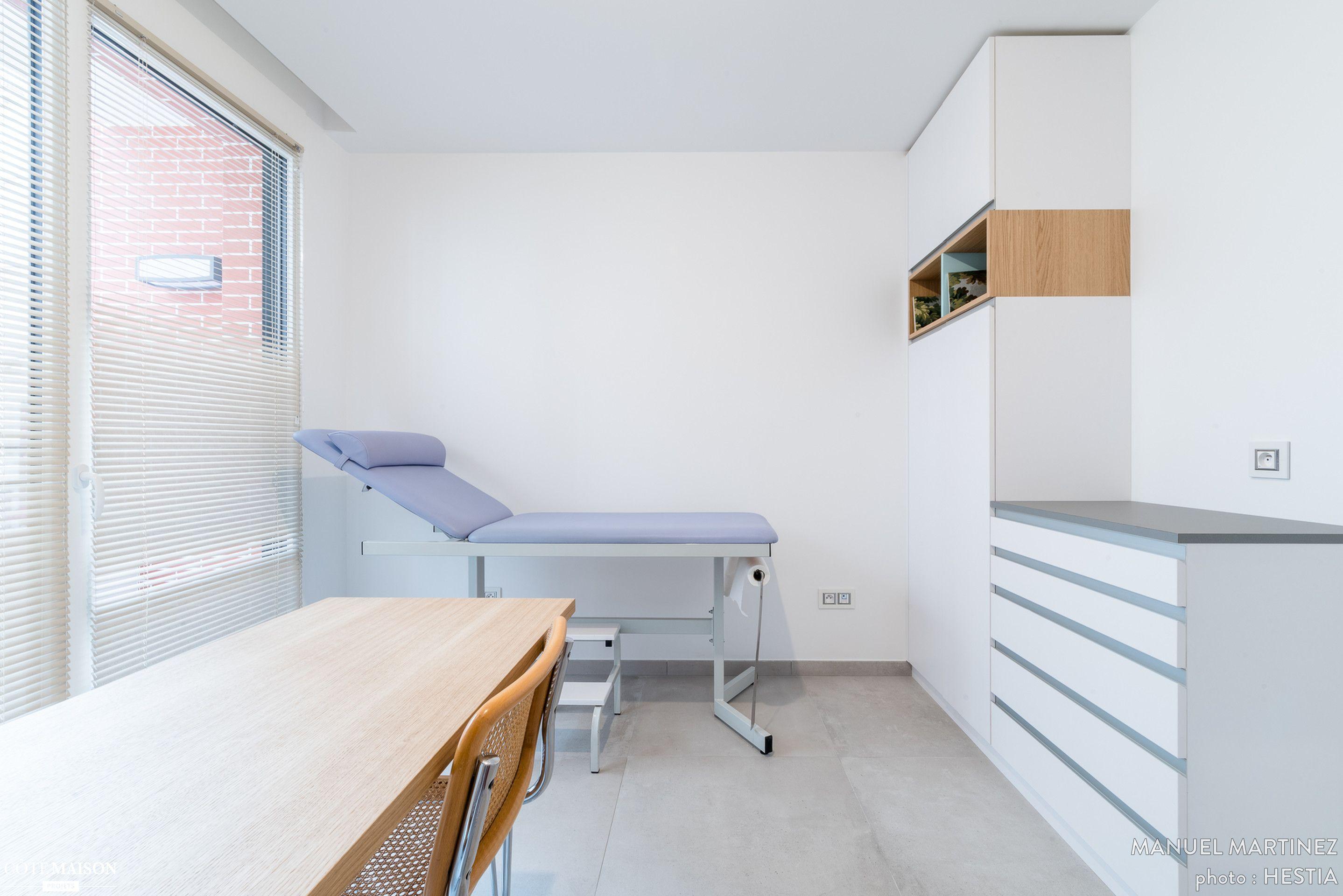Cabinet Medical Avec Une Ambiance Zen Manuel Martinez Cote Maison Cabinet Medical Photographe Immobilier Design D Interieur Clinique