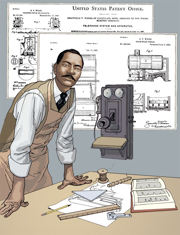 Granville T Woods: The Man That Beat Thomas Edison | African american history month, Black history facts, Granville