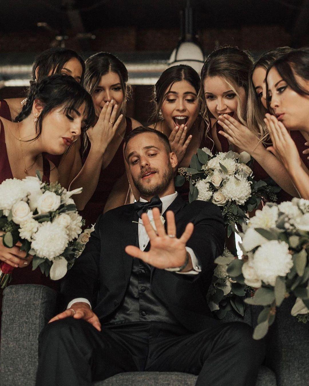 Consejos e ideas originales para las fotos grupales en la boda.