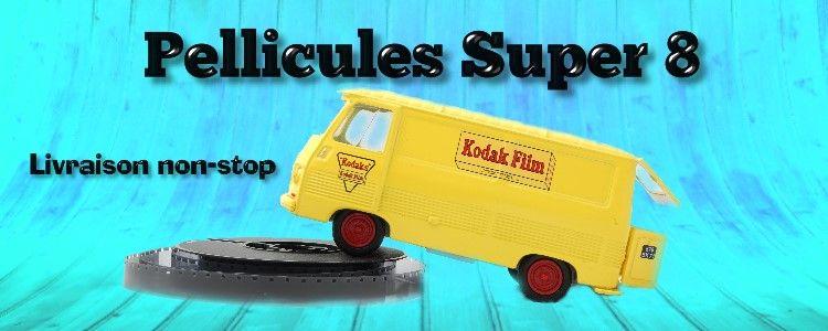 Pellicules Super 8 Kodak en Vente sur www.super8france.com
