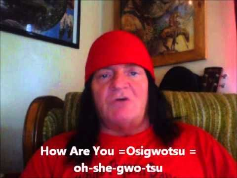 Cherokee Language Lessons 1 - YouTube