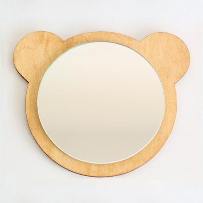 miroir ourson naturel chambres b b kids room. Black Bedroom Furniture Sets. Home Design Ideas