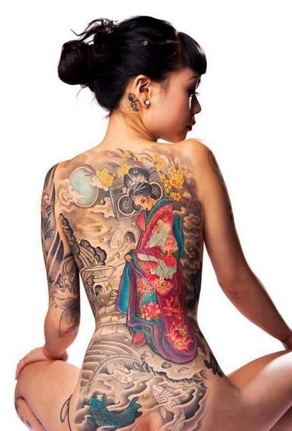 Japanese tattoos – symbols, meaning and design ideas