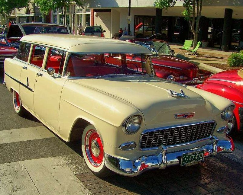 1955 Chevy wagon Maintenance/restoration of old/vintage vehicles ...