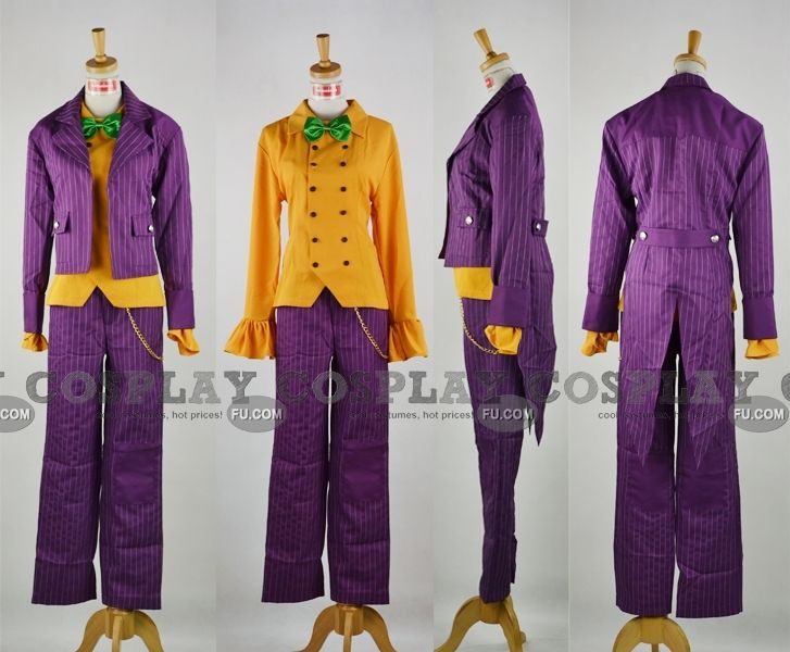 Joker Costume from Batman Arkham City - Tailor-Made Cosplay Costume & Joker Costume from Batman Arkham City - Tailor-Made Cosplay Costume ...