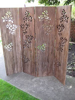 Habitat Palonia Wooden Room Divider Screen eBay Wedding