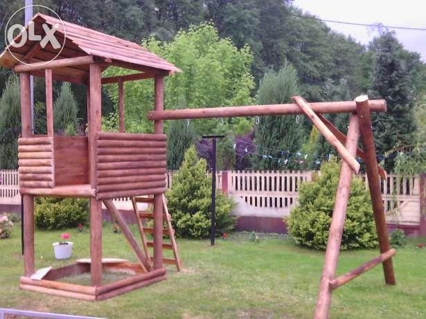 Meble Ogrodowe Hustawka Domek Dla Dzieci Szymanow Image 1 Garden Bridge Outdoor Outdoor Structures
