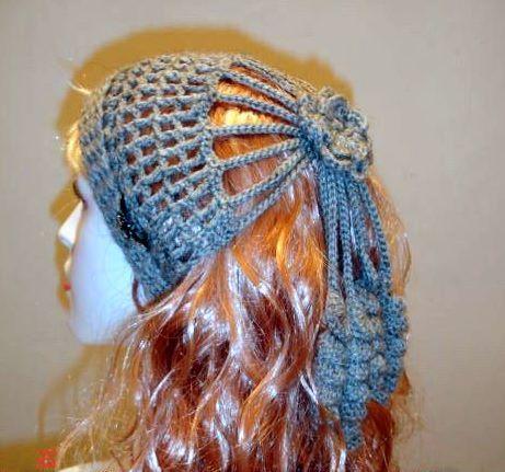 diadema+visera+con+adornos+crochet1.jpg (461×431)