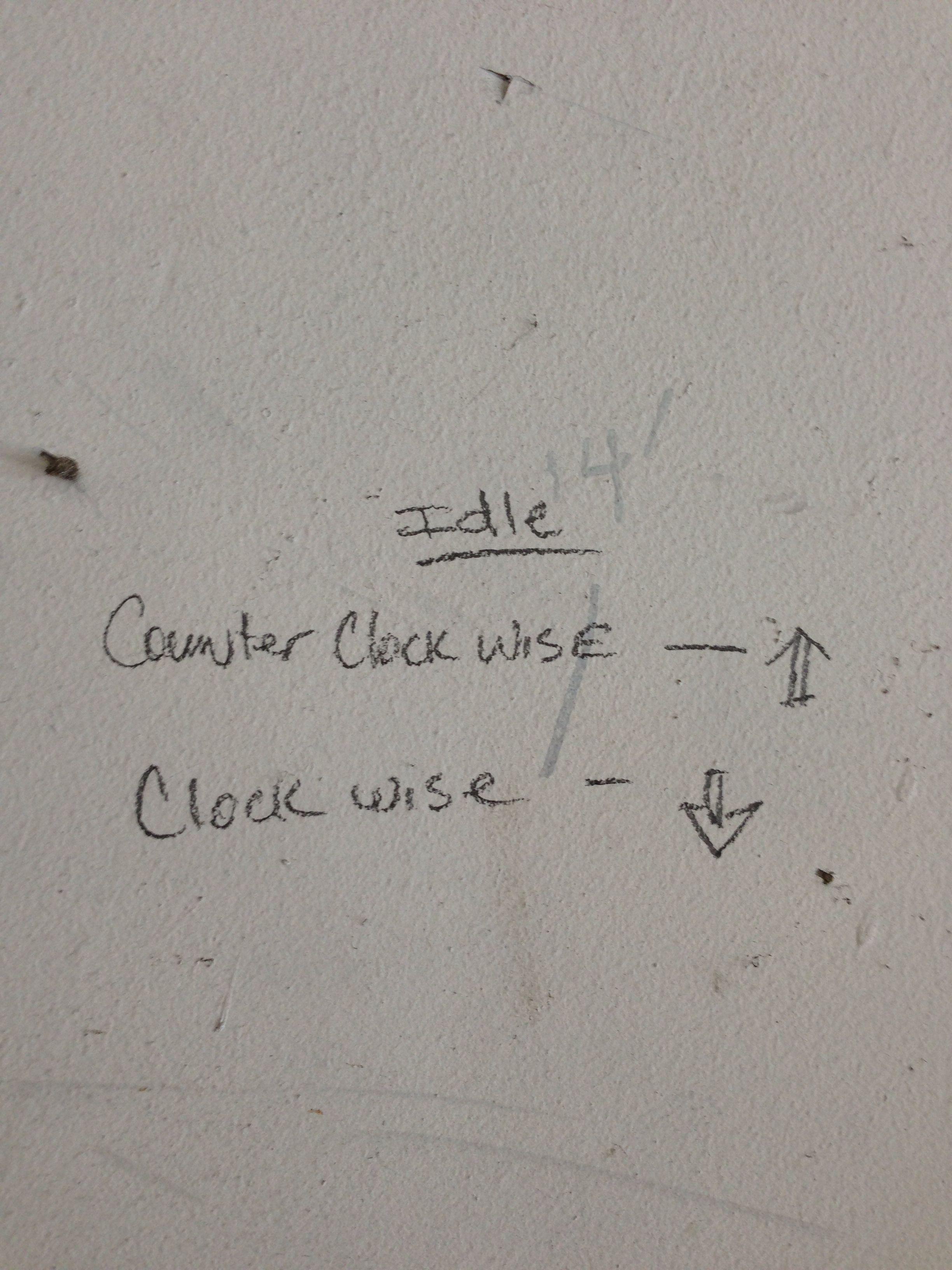 cb750 carb idle adjustment [ 2448 x 3264 Pixel ]