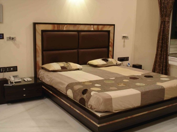 Master bedroom design by arpita doshi interior designer Bedroom designs india