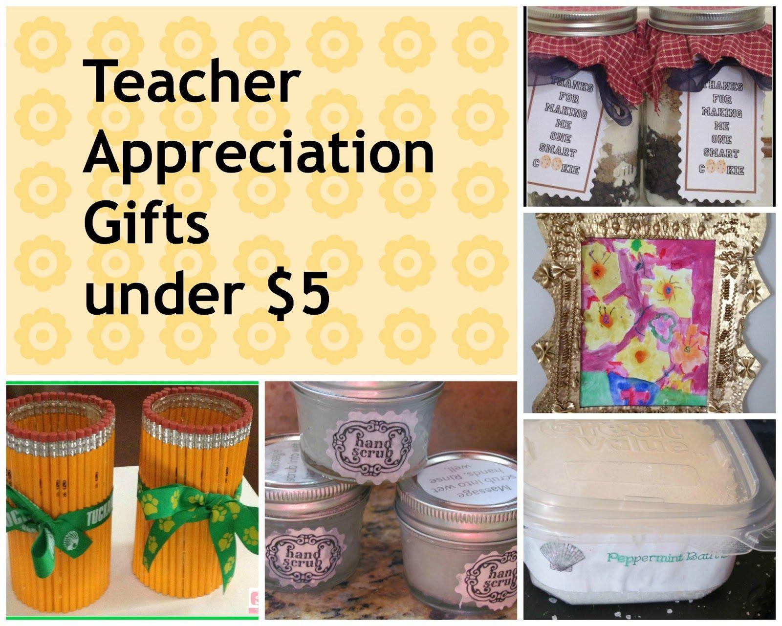 DIY and Handmade Teacher Apreciation Gifts | Appreciation gifts ...
