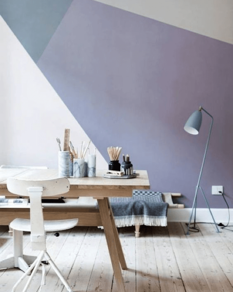 Colour Scheme Idea Modern Pastels Dream Home Geometric