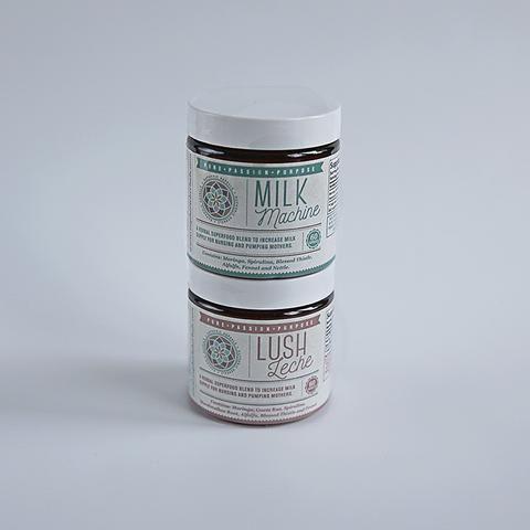 Milk Machine & Lush Leche Bundle from euphoric herbals