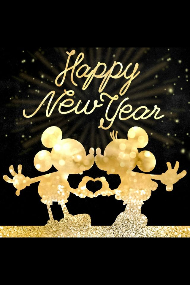 Happy New Year Mickey Mouse Minnie Mouse | Truths and Love ...