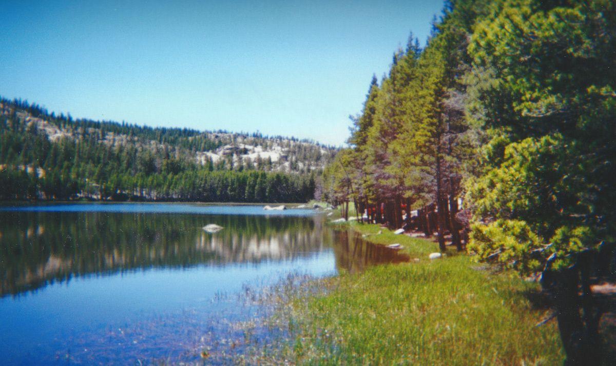 Burnside Lake   Alpine County   Toiyabe National Forest
