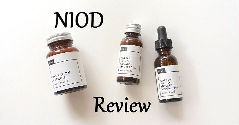 Review Niod Copper Amino Isolate Serum 1% Phục Hồi Da (CAIS)