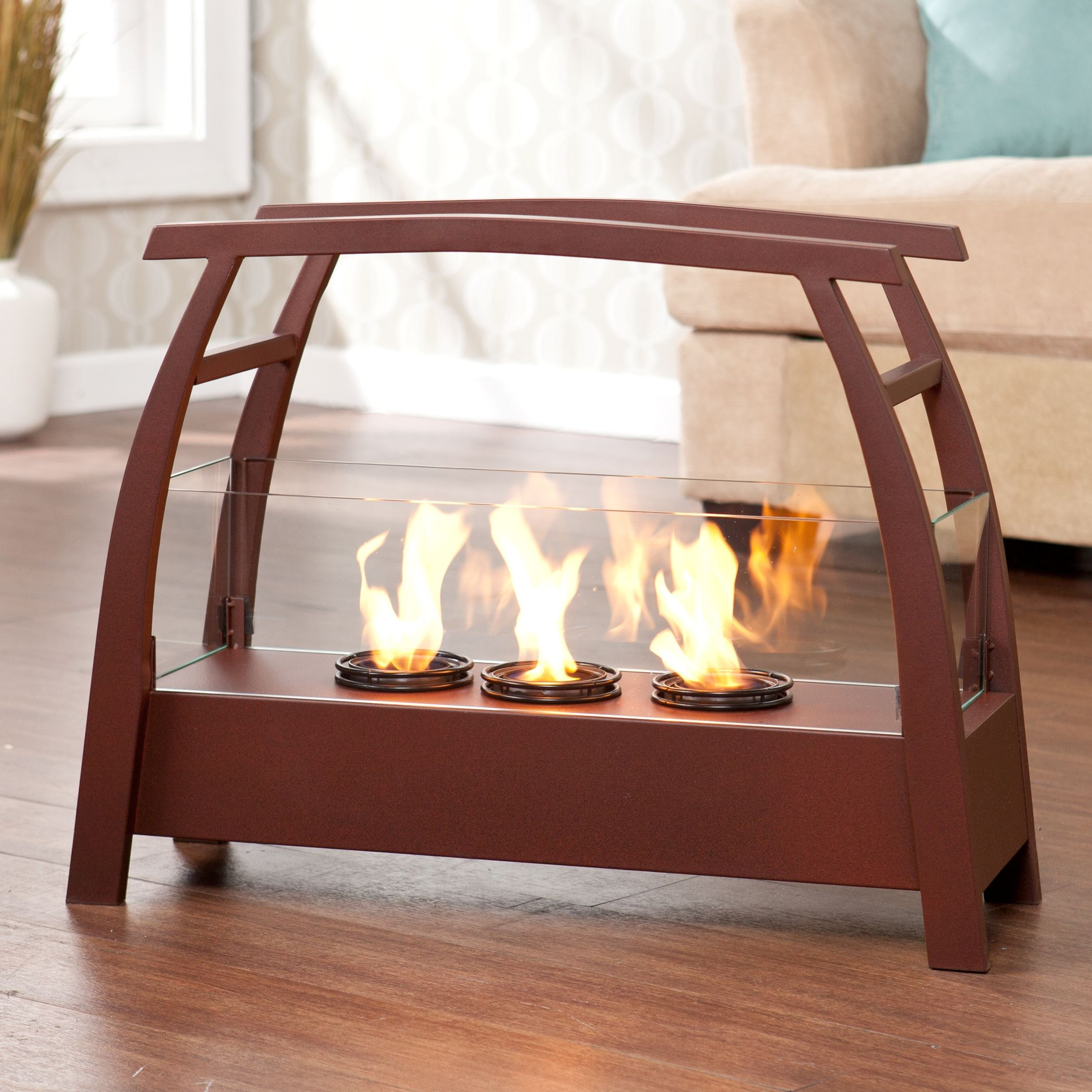 portable fireplace for indoor and outdoor use. This piec… | Pinteres…
