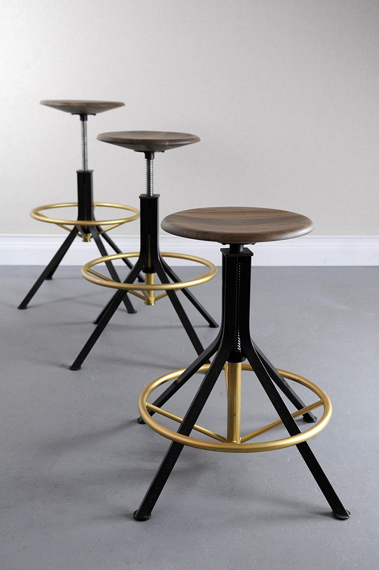 Architect S Stool Studio Dunn With Images Contemporary Bar Stools Stool Interior Furniture