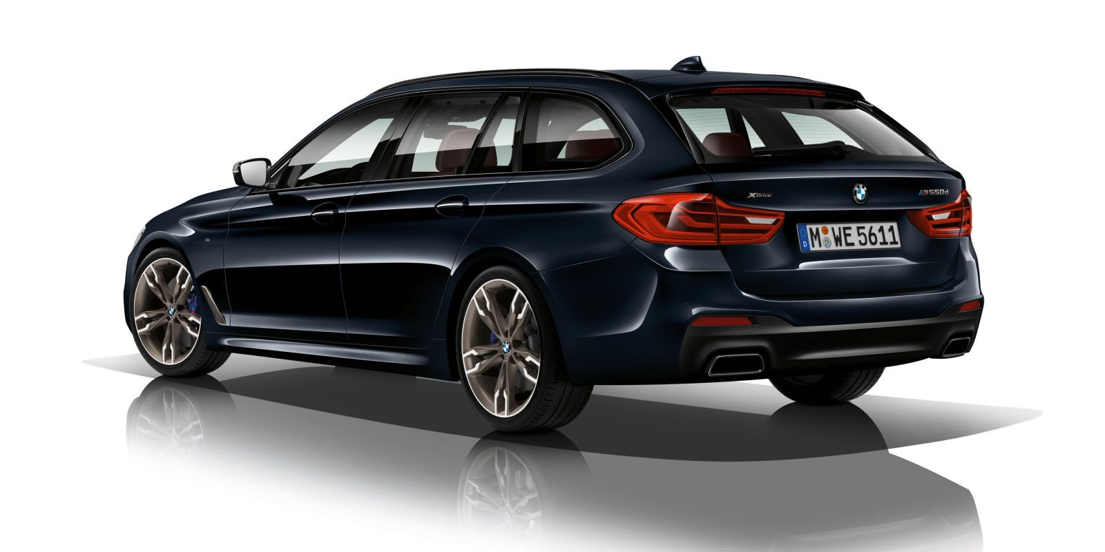 The bmw m550d xdrive touring is the quad turbo diesel wagon of your dreams