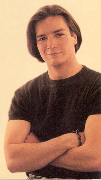 I have to pin this because... wow. Nathan Fillion in the 90s