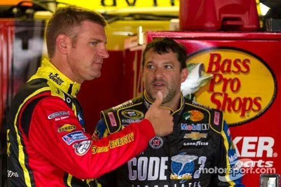 CLINT AND TONY STEWART