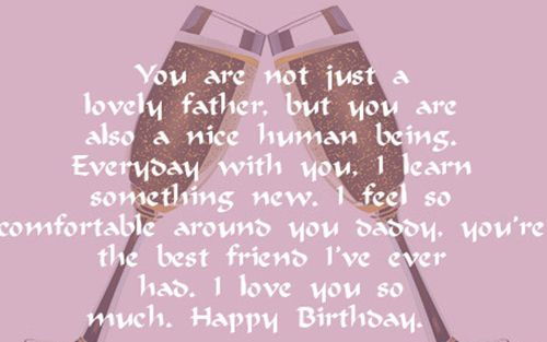 200 Happy Birthday Wishes Messages Quotes Status For Dad