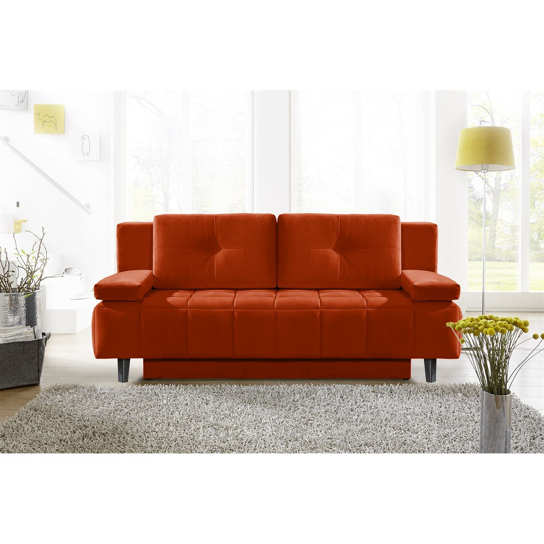 Home24 Schlafsofa Loppi Samt Gunstige Sofas Kunstleder Couch Sofa Weiss