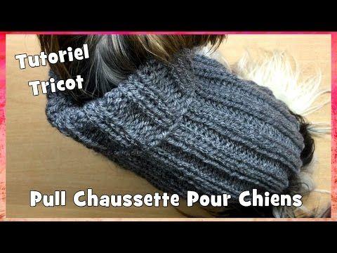 Tutoriel Tricot: Pull Chaussette pour petits chiens