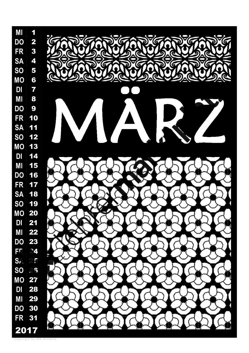 Diese Kalendervorlage gibt es jetzt auch für 2018 mit teilweise ...