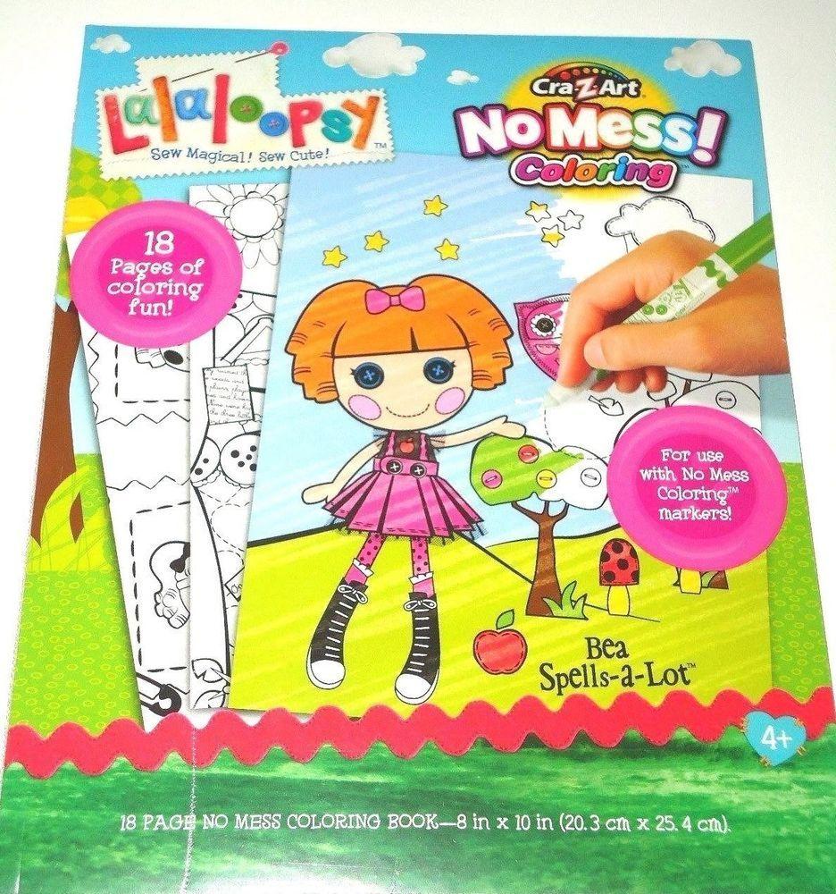 Lalaloopsy Bea Spells-a-Lot Mess Free Coloring Book by CraZ Art 18 ...