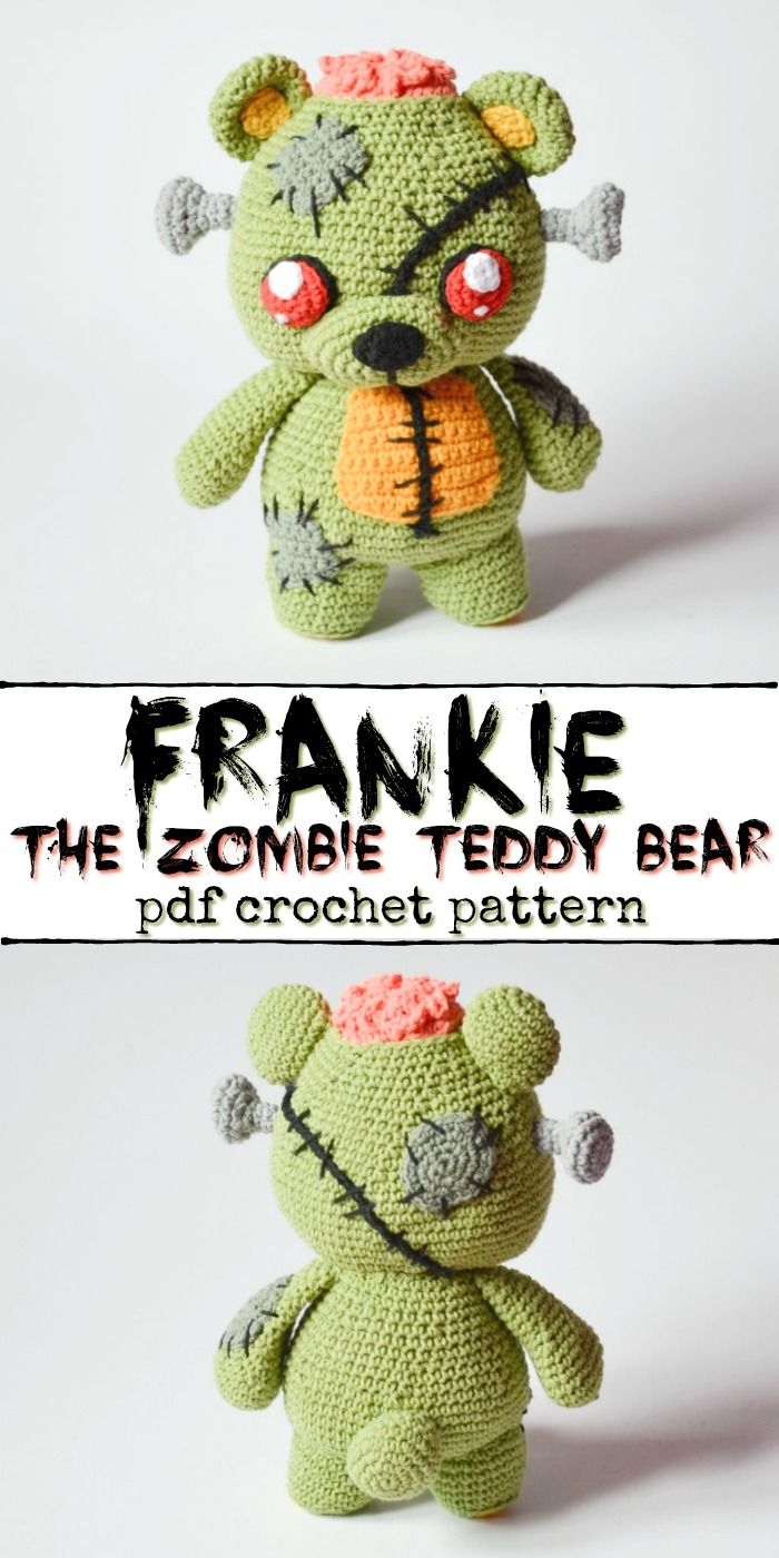 Cute & Creepy Crocheted Creatures