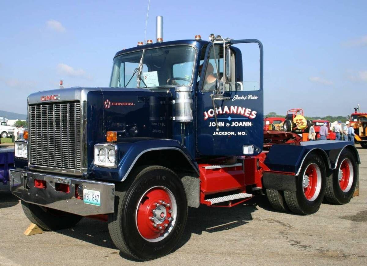 gmc trucks   File:1991-gmc-semi-truck-04964.JPG   GMC truck ...
