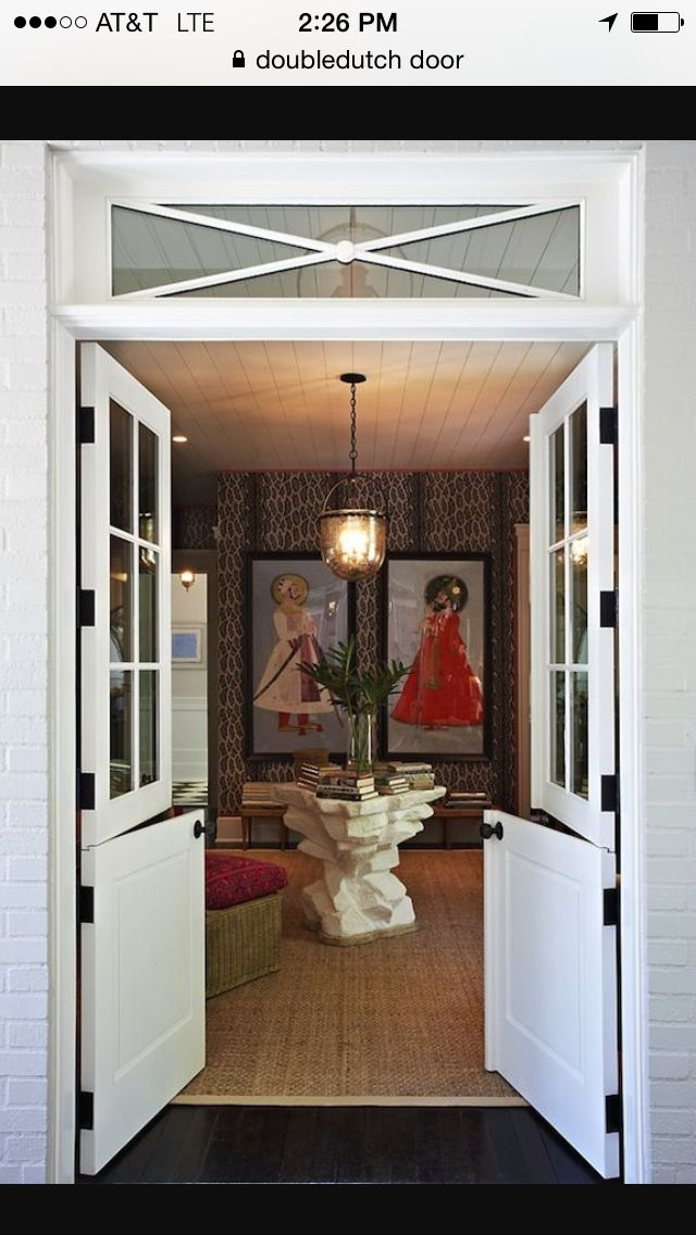 Someday I D Love To Replace The Slider With This Now We Re Talking Perfect Double Dutch Doors