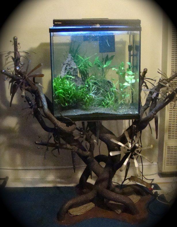 Unique Aquarium Stand Design Ideas Diy Aquarium Aquarium Stand Custom Aquarium