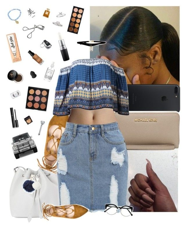"""""""Oct 7 🆒"""" by frezhstyle ❤ liked on Polyvore featuring MICHAEL Michael Kors, Rochas, Morphe, MAC Cosmetics, Herbivore, ASOS, Charlotte Russe, Michael Kors, Mercedes-Benz and Laura Mercier"""