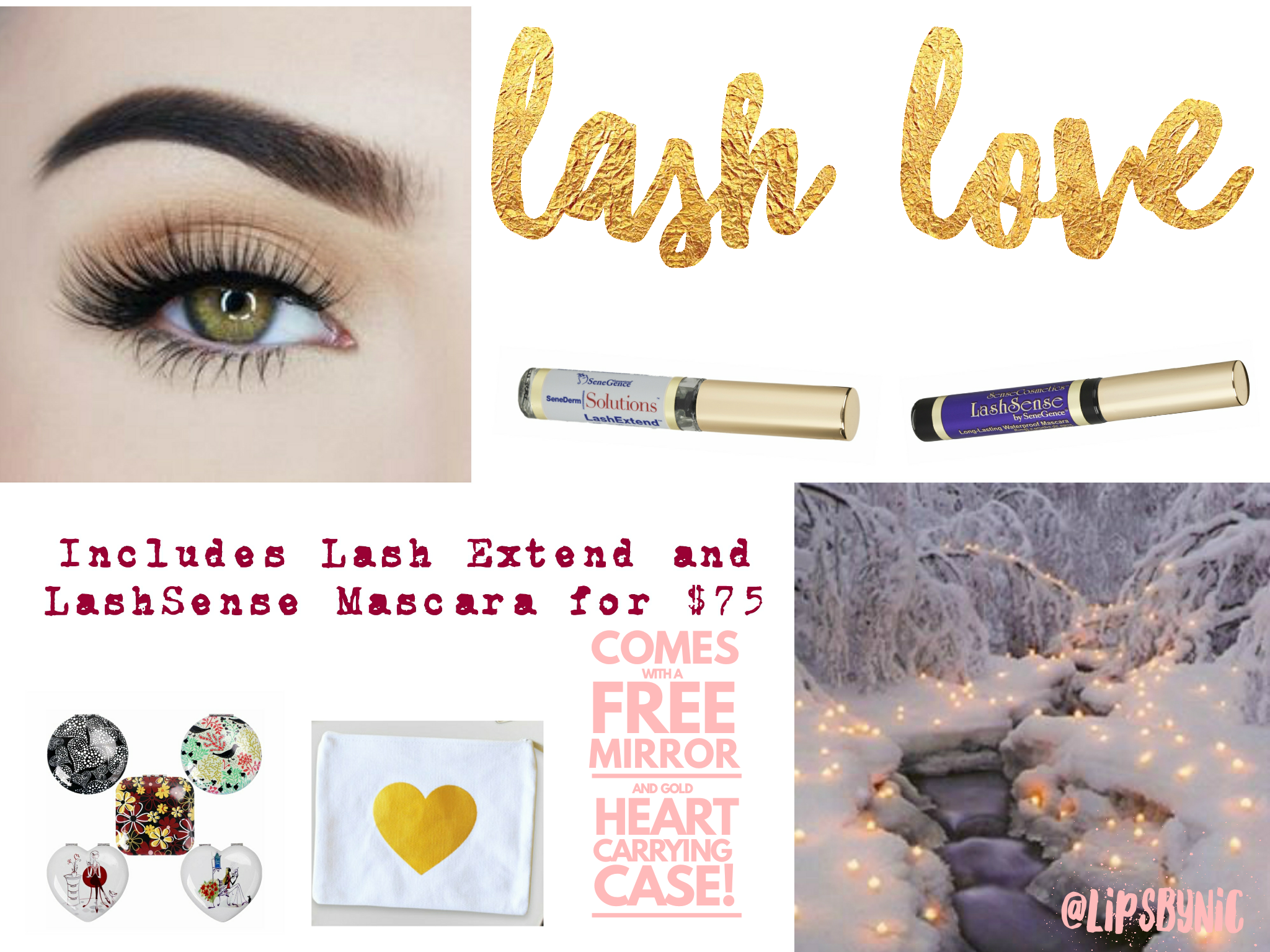 Lash Love Is For Those Who Well, Love Lashes! Includes Lash Extend And  Lashsense