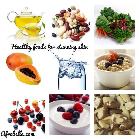 Healthy food for stunning skin afrobella my blog healthy food for stunning skin forumfinder Choice Image