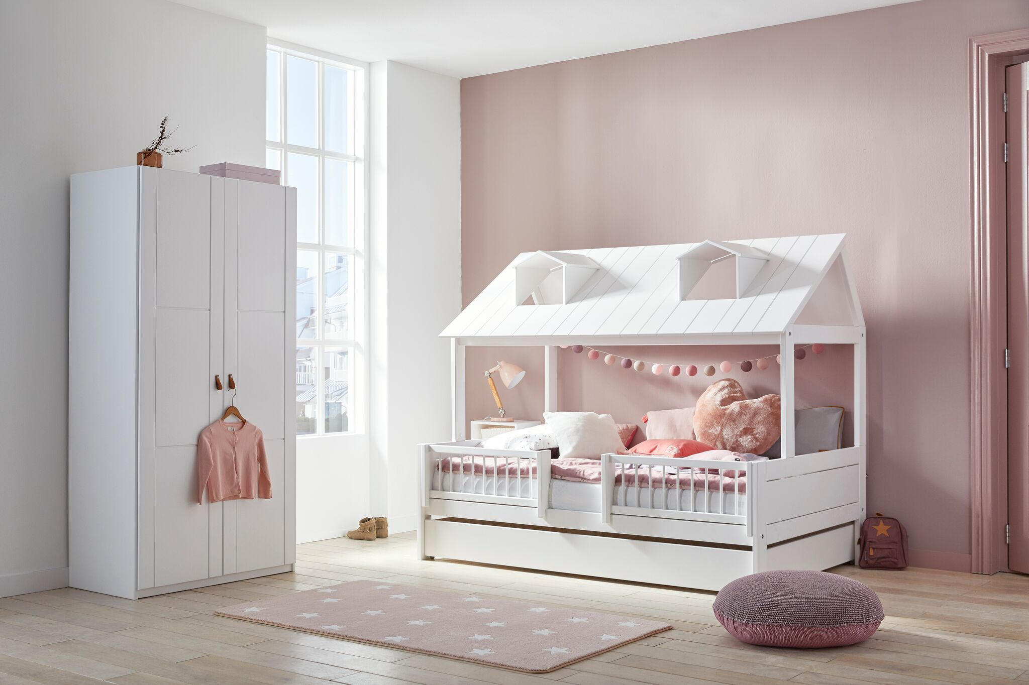 Beachhouse Bett In Drei Grossen 90 X200 Cm 120 X 200 Cm Und 140 X 200 Cm Kinderbett Haus Kinder Zimmer Kinder Bett