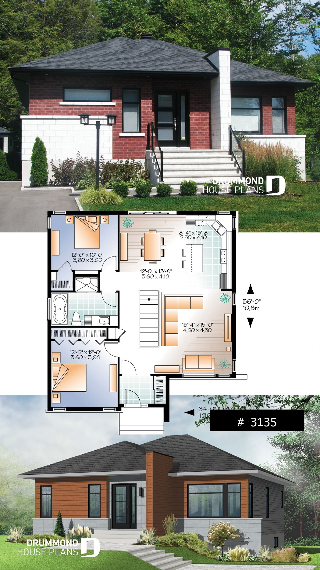 house plan Camelia No. 3135 | Courtyard house plans, House ...