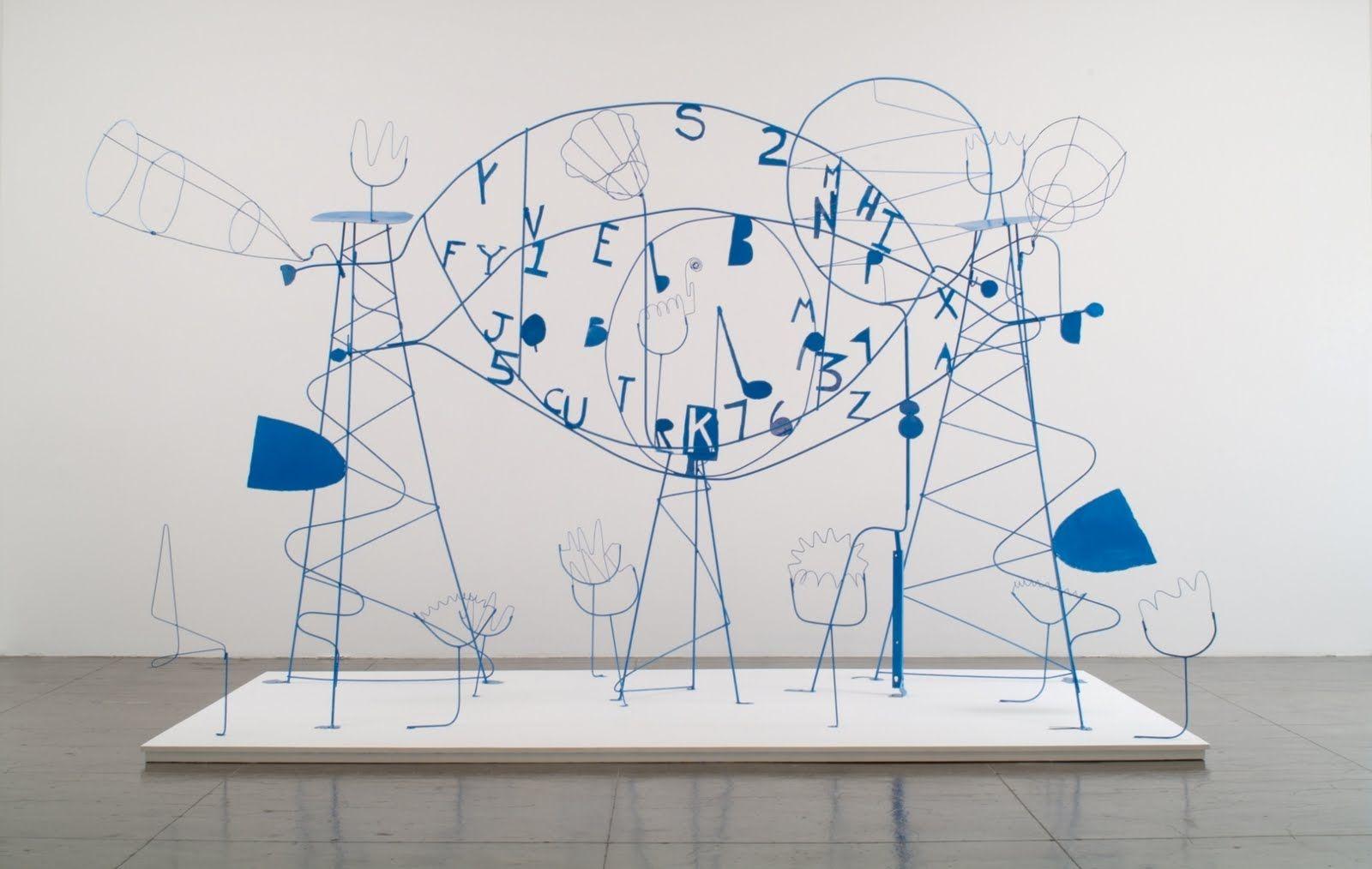 Calder Wire Sculpture.   Modern Sculpture   Pinterest   Alexander calder