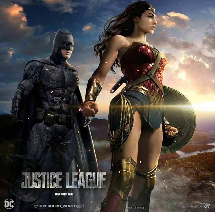 Justice League Batman And Wonder Woman By Unknown By -5056