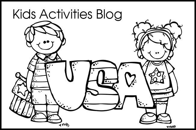 Fourth of july coloring pages