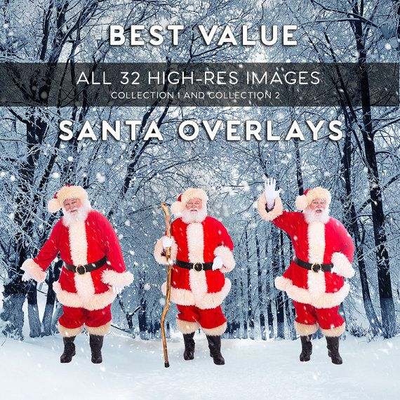Hey, I found this really awesome Etsy listing at https://www.etsy.com/listing/261227896/santa-claus-overlays-collection-package