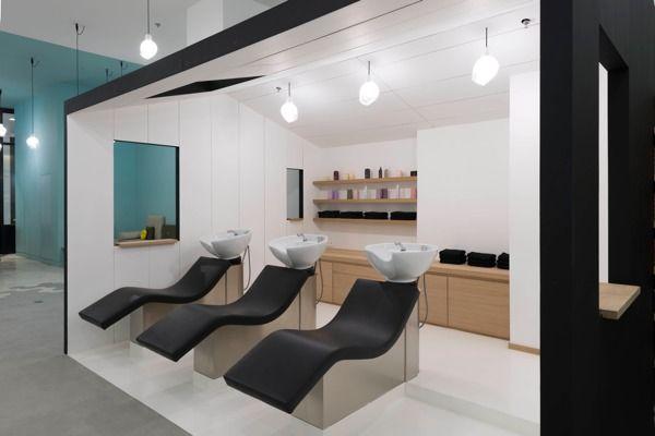 Décoration intérieure · salon de coiffure design