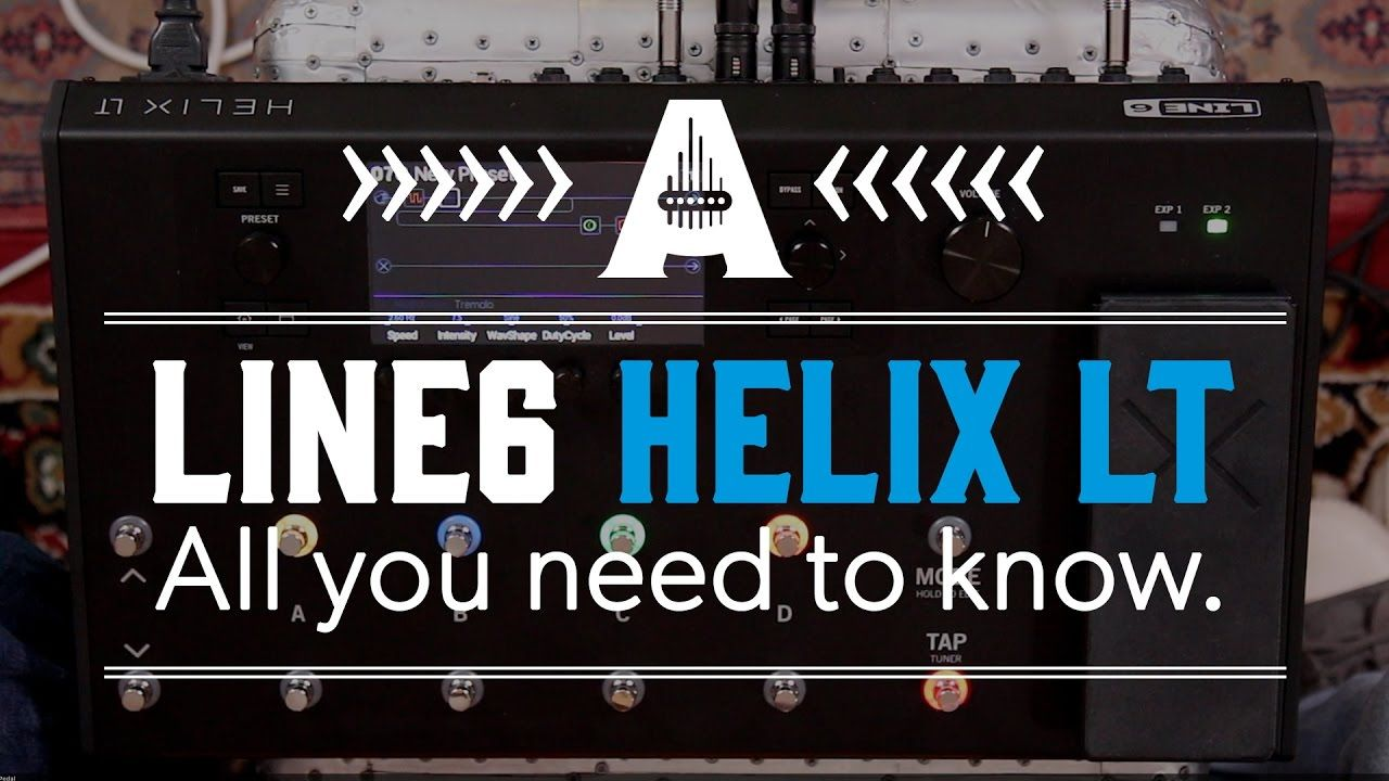 Line6 Helix LT - All you need to know  | helix | Pinterest