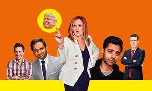Seth Meyers, Aziz Ansari, Samantha Bee, Hasan Minhaj and John Oliver